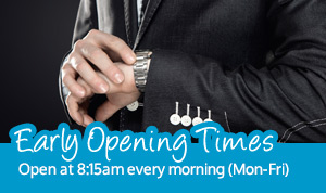 early opening times